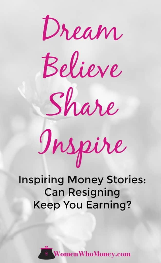 Inspiring Money Stories: Can Resigning Keep You Earning? An Interview with Taliah, a millennial who has taken on debt, shifted from full-time work to a per diem schedule and started a new business with her husband.