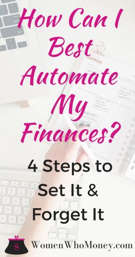 How Can I Best Automate My Finances? [Infographic]