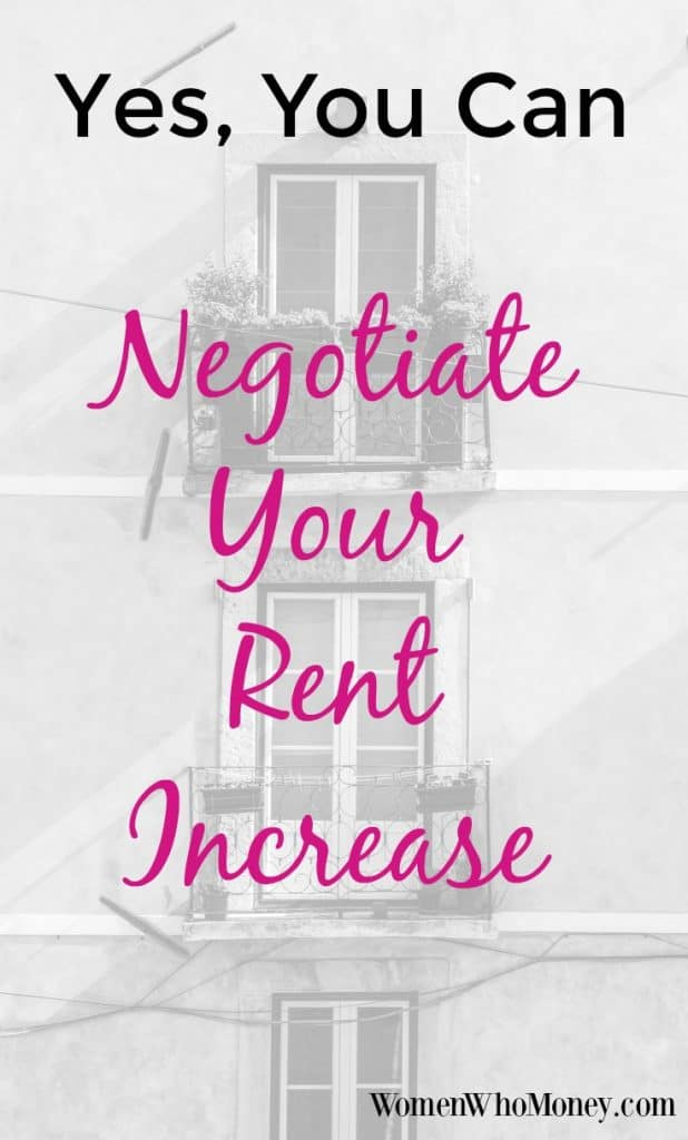 Yes you can negotiate your rent increase