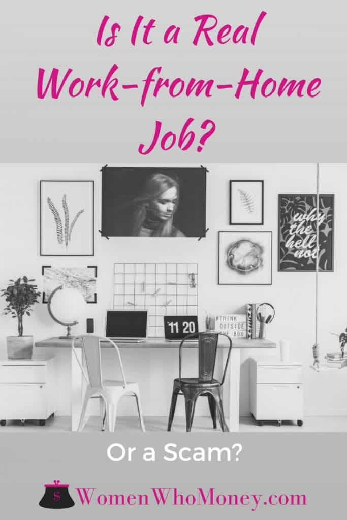 How Can I Tell if a Work-From-Home Job is a Scam?