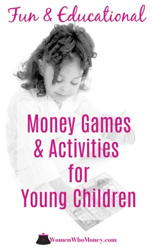 """Parents and caregivers may wonder when to start teaching young children about money. Although there is no """"right"""" time, starting early makes the most sense. Here are some tips and great resources to help teach while having fun too."""