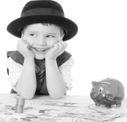 Money games and activities for young children