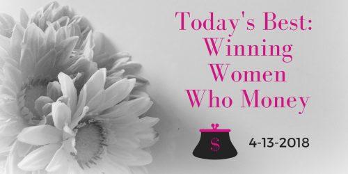 best winning women money 4-13-2018