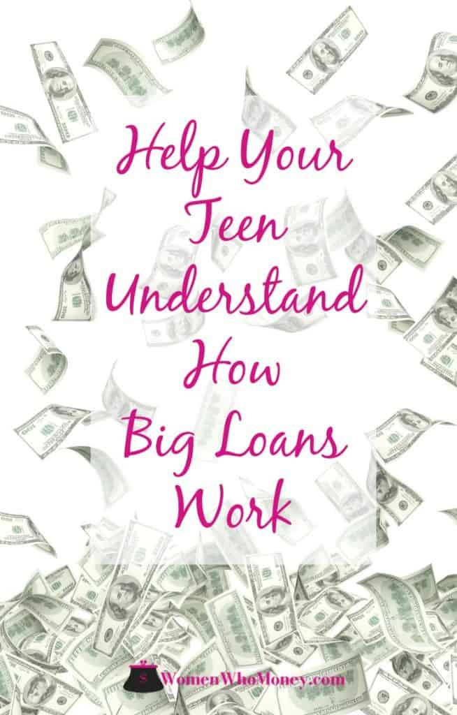 By the time children reach their later teenage years, they will very likely be asked to make four, five, and even six-figure financial decisions about college tuition, cars, and other big-ticket expenses. Follow these tips and help your teenagers make smart choices with their financial decisions. #teens #loans