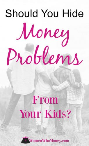 Should We Hide Our Money Problems From The Kids? Honesty is the best policy. It's one of the most important lessons that virtually every family tries to instill in their children. But is honesty still the best policy when it comes to family finances and discussing money problems with your kids? Yes. And we'll advise you how.
