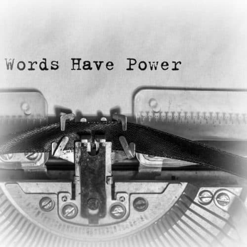 Inspiring Money Stories Rhetoric - Words Have Power