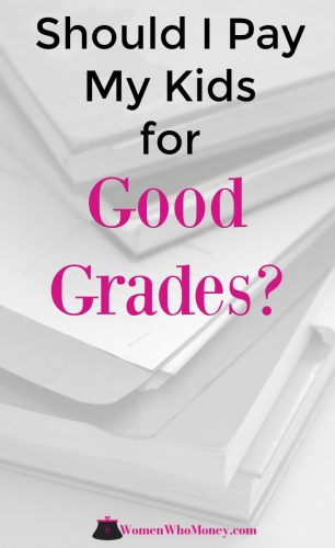 Should I Pay My Kids To Get Better Grades In School? Your kids will be bringing report cards home soon, and you may be getting ready to hand out some cash. And if that isn't the deal you have with your kids, you've probably thought about it at some point. Instead of paying for good grades your money may be better spent doing. #reportcards #kids #school #grade