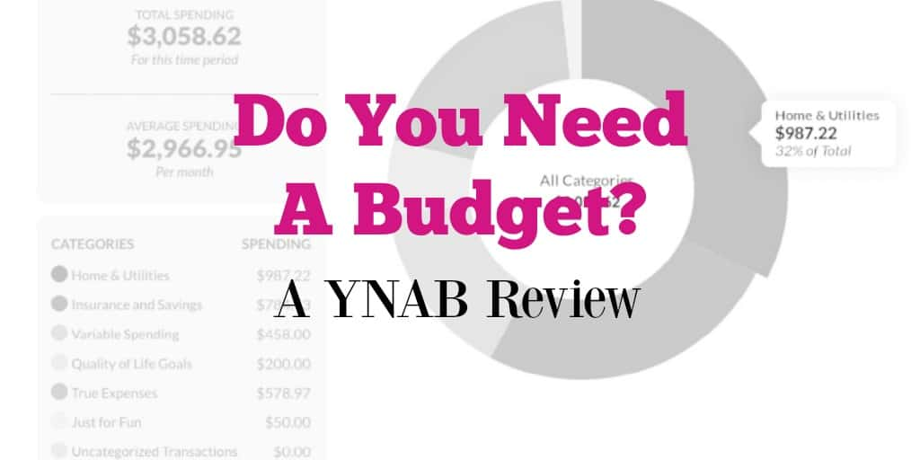 Do You Need a Budget - YNAB Review 2