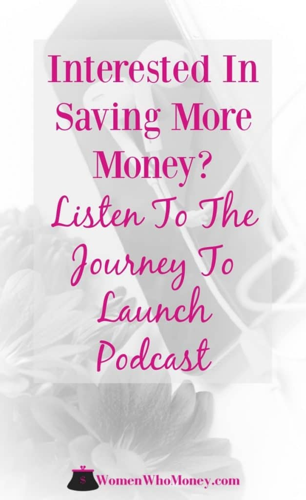 If you enjoy listening to podcasts during your work commute, while exercising, or even while cleaning the house, Journey to Launch, hosted by Jamila Souffrant is a great one to add to your the list! #podcast #personalfinance
