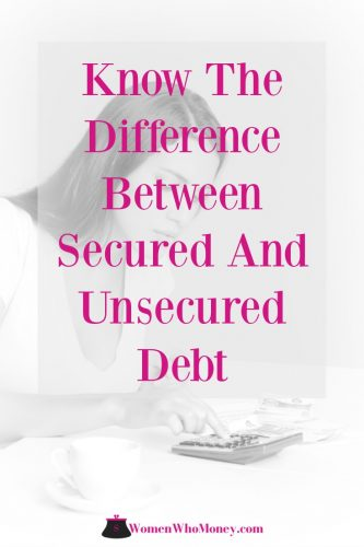"When reading about debt and borrowing, you may have heard the terms ""secured"" and ""unsecured"" come up. Not entirely clear on what they mean? You're not alone. Here we detail the differences."