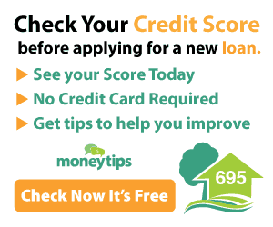 Check your credit score on moneytips