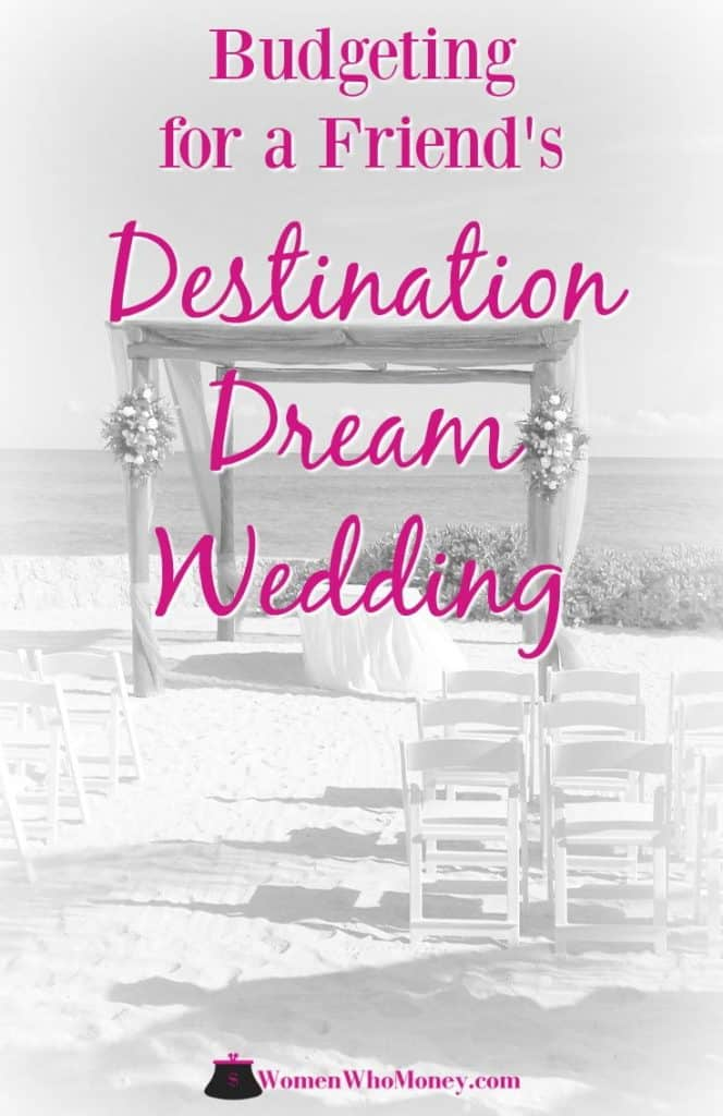The invitation arrived. My best friend's destination dream wedding on a Caribbean island. We saved for it. But overspent, learning some valuable lessons. #destinationwedding