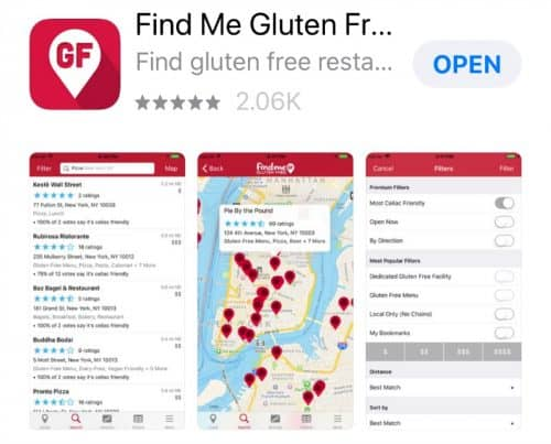 eating healthy while traveling - find me gluten free