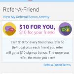 Be Frugal Bonus Refer a Friend Offer