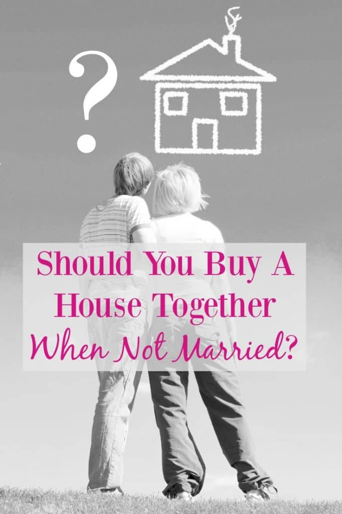 Considering home ownership with a partner despite not being married? Check these pros and cons along with important things to know should you decide to buy. #homeownership