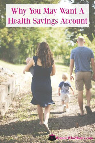 Young family walking on a dirt path
