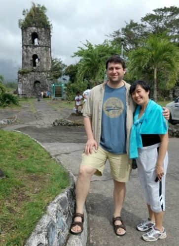Scott and Caroline Ceniza-Levine Philippines