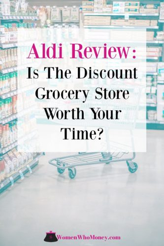 save money grocery shopping at Aldi