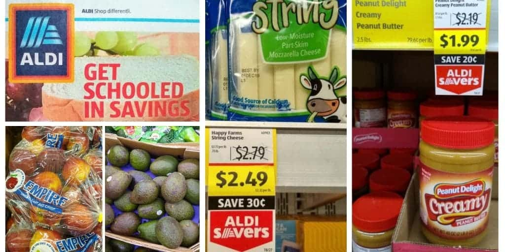 grocery items you can purchase at Aldi