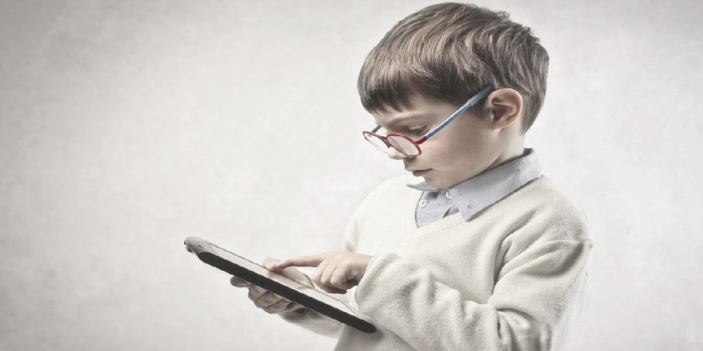 male child showing entrepreneurial spirit