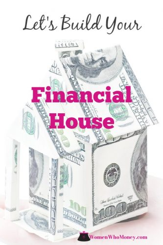 This guide will help you build your financial house from scratch or suggest rooms you may not have thought about in your current financial plan. #financialhouse #finances #money #investments #insurance #retirement #estateplanning #emergencyfund #debtelimination #401k #womenandmoney