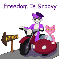 Freedom Is Groovy logo