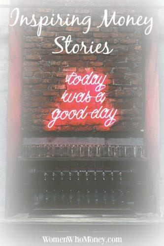 Inspiring Money Stories living for today