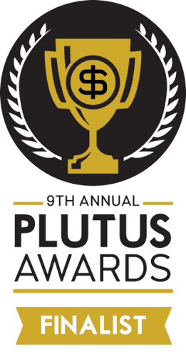 plutus awards finalist badge