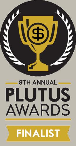 plutus awards finalist badge