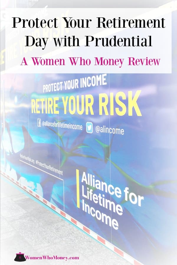 The co-founders of Women Who Money review their recent participation in Protect Your Retirement Day in NYC. #ad #Prudential #ProtectYourRetirement #annuity #annuities #retirement #income