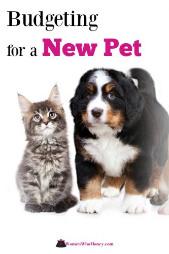 Furry friends bring so much love to your house, but just like new human babies, they also carryadditional expense. Here's how to budget for a new pet. #budget #budgetingforpets #newpets
