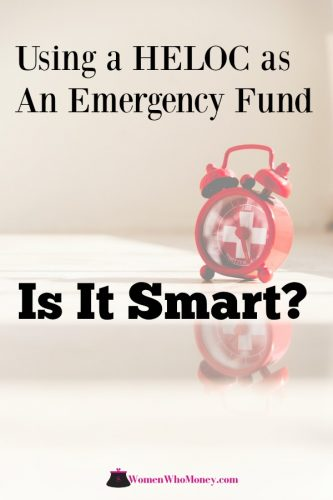 using a heloc as an emergency fund