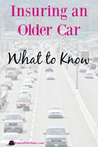 insuring an older car