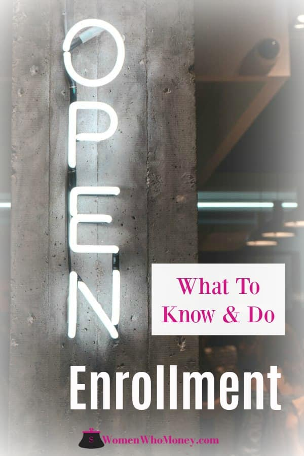 neon sign open enrollment