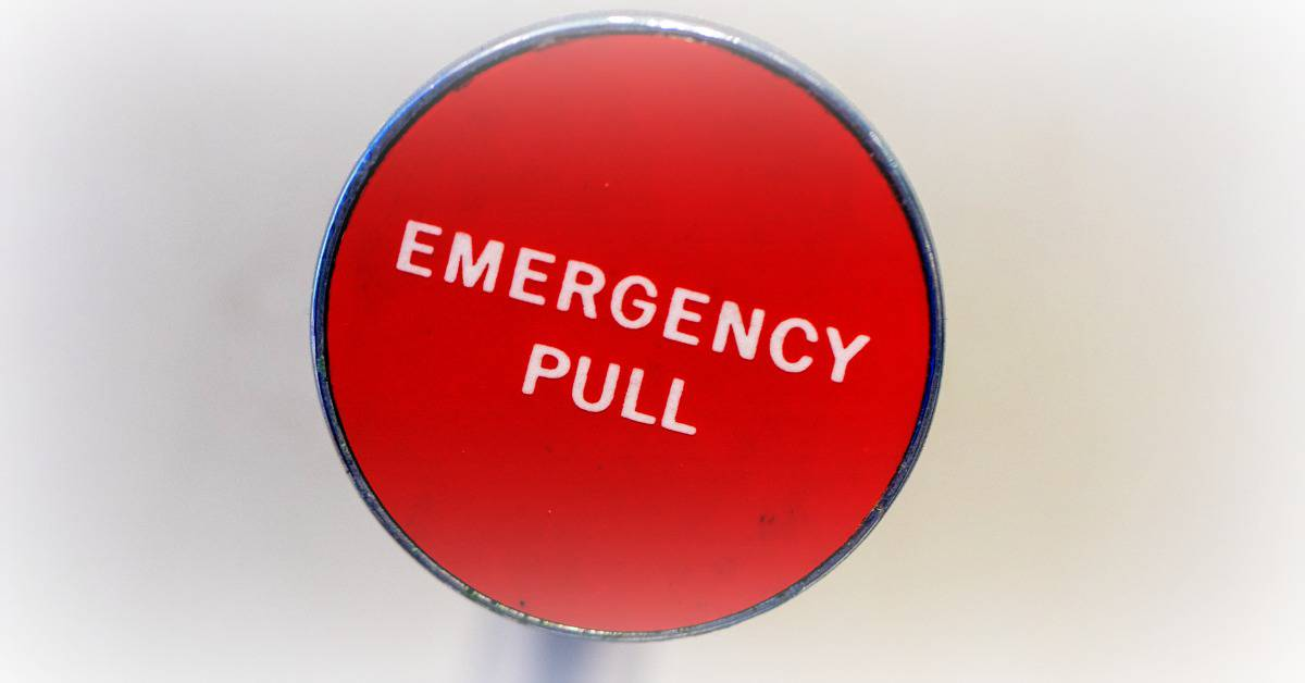 emergency pull button