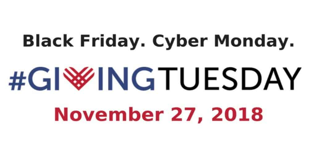 Giving Tuesday 11-27-2018