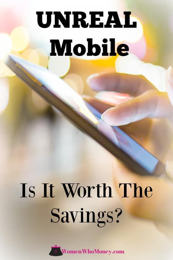 Today's UNREAL mobile review comes from Vicki, co-founder of Women Who Money. Learn what she thinks of this newer MVNO (Mobile Virtual Network Operator). #mobilephone #cellphone #mobiles #MVNO #UnrealMobile #Unreal #review