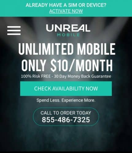 Unreal Mobile Review Cover