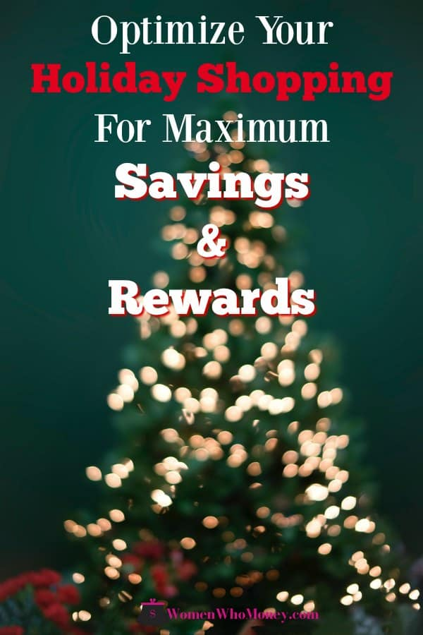 Here are a few simple things you can do to optimize your holiday shopping and spending for the most significant savings, cashback, and credit card rewards. #shopping #savings #cashback #creditcardrewards #rewards #holidays
