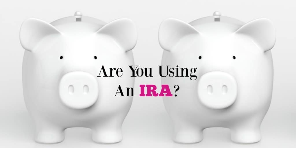what is an IRA are you saving in one