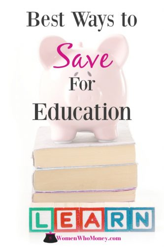 best ways to save for college expenses - piggy bank on a stack of college books