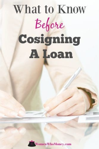 Before agreeing to cosign a loan for a family member or friend, be sure you understand how it might affect your finances and your relationship.