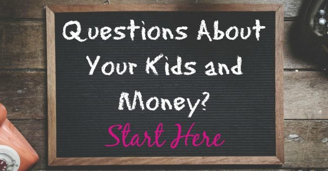 questions kids and money