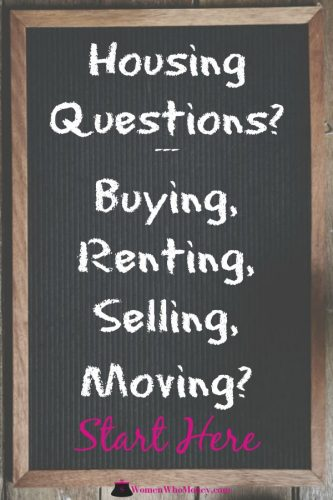 Housing Questions? Whether you're renting, selling, buying or just borrowing couches after a bad relationship - we've got information to help you make wise decisions to protect yourself and your assets.