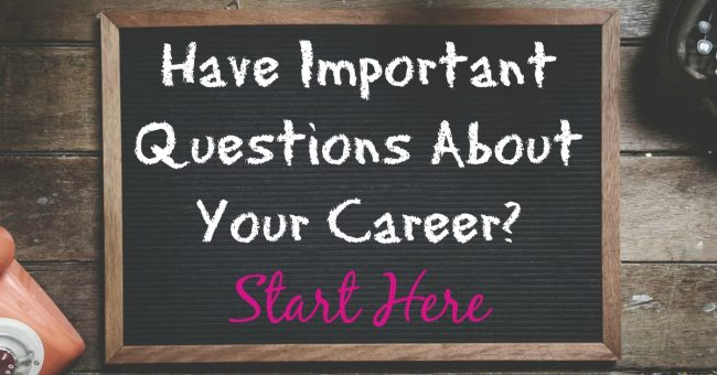 career questions start here 1