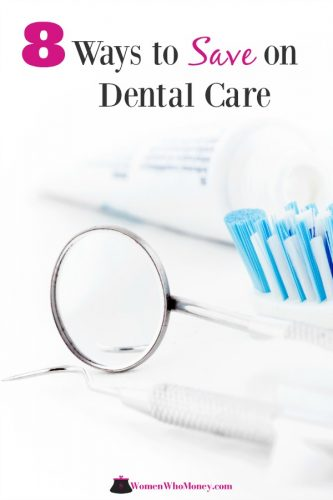 Toothbrush and dental tools on a white background