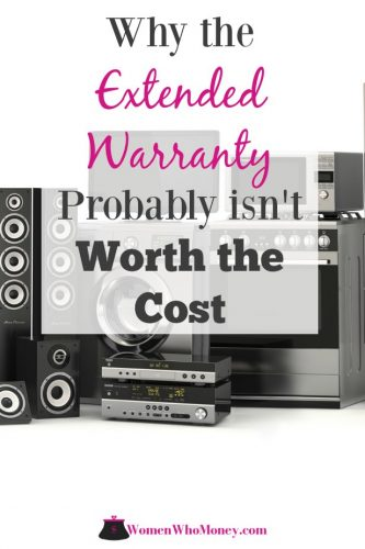 Before you decide to purchase an extended warranty, make sure you understand the coverage in detail. Know what it includes, what it excludes, and when it kicks in.