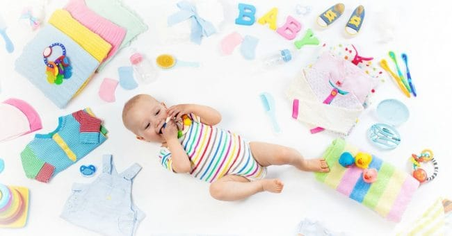 new baby and items you will need