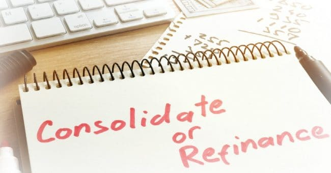 consolidate or refinance student loans