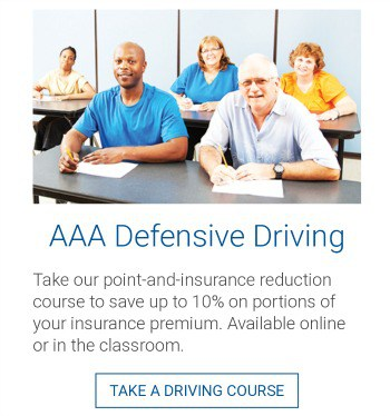 AAA defensive driving class
